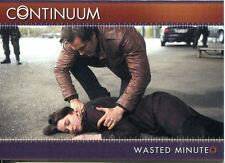 Continuum Season 3 Gold Parallel Base Card #86 Wasted Minute
