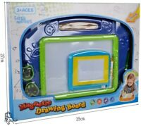 Magnetic Drawing Board Educational Toy 2 Pieces Erasable Doodle Sketch Writing