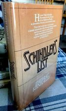 Thomas Keneally SCHINDLER'S LIST BEAUTIFUL 1st Edition/1st Printing Hardcover DJ