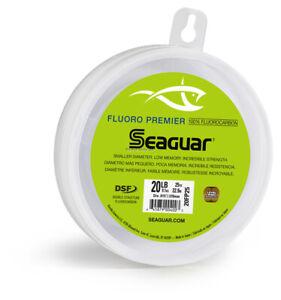 Seaguar Fluorocarbon Premier Fishing Line Leader Material 30lb 50yd 30FP50