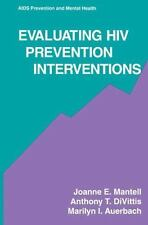 Aids Prevention and Mental Health Ser.: Evaluating HIV Prevention...