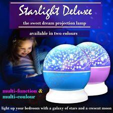 Star Moon Sky Starry Night Projector Light Lamp For Kids Baby Bedroom STARLIGHT
