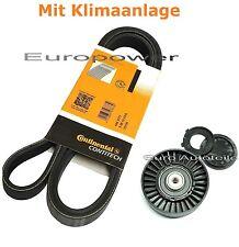 Keilrippenriemen+Spannrolle Für VW Caddy Corrado Polo Sharan Vento mit klima Neu