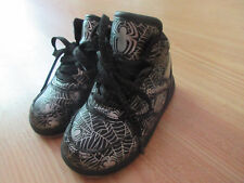 Reebok Marvel Spiderman Attack Of The Spider Black/Silver Toddler Gym Shoes SZ.5