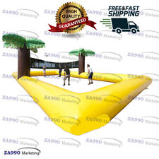 52x26ft Inflatable Foot Volley Ball Beach Court Game With Air Pump