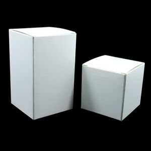20X Foldable White Card Paper Box for Gift Toy Wedding Party Favor Packaging Box