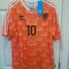 1988 Netherlands Home Football Shirt Vintage Holland Classic GULLIT 10 Remake