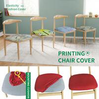 Coton Confort Chaise Siège Coussin Amovible Couvre Stretch salle à manger Decor