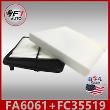 FA6061 FC35519 ENGINE & CABIN Air Filter for (ACURA TSX 2.4L 4CYL) 2009-2014