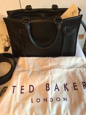TED BAKER HANEE Double Zip SMALL Leather Tote Shoulder Hand Bag RRP £249 New