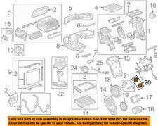 GM OEM Evaporator Heater-Gear 13267333