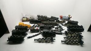 Life Like/Tyco/Bachmann etc HO Train Large Steam Locomotive Lot For Parts/Repair