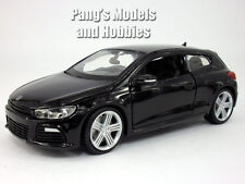 Volkswagen VW  Scirocco R 1/24 Scale Diecast Model by Bburago - Black