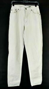Hunt Club Women's Size 10 Vintage VTG High-rise Moms Jeans Pants Cream Ivory