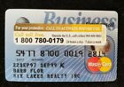 AT&T Business Universal MasterCard credit card exp 1999♡free ship♡cc1110♡