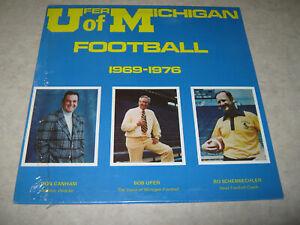 UFER of MICHIGAN Football 1969-1976 LP SEALED! Bo Schembechler