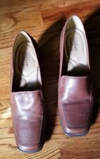 333968e787ce0 Strictly Comfort Women Brown Leather Shoes 2