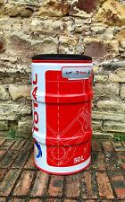 Total motorsport fuel barrel drum garden seat bar stool Le Mans car racing gift