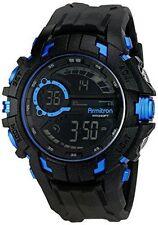 Armitron Men's Black Resin Watch, 100 Meter WR, Chronograph, 40/8335BLU