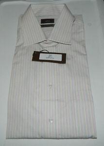New Men Alara 100% 2 Ply Egyptian Cotton Multi-Color Long Sleeve Dress Shirt 17
