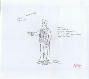King of the Hill Astounding Herrera Original Art Animation Production Pencils 98