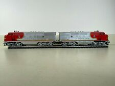 LIONEL # 2343 Postwar SANTA FE Diesel AA Locomotive Set F3 O Gauge Runs Well