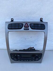 01-05 MERCEDES C230 W203 C240 OEM  Front A/C Heater Control Climate Unit 2002