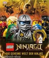 Fachbuch LEGO® Ninjago™ Die geheime Welt der Ninjas, mit Sensei Wu Minifigur NEU