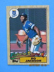 1987 TOPPS #170 BO JACKSON FUTURE STARS ROOKIE NM-MT MINT RC