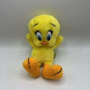 "Vintage Tweety Bird Stuffed Animal Plush 24K Co WARNER BRO 1993 10"" Looney Tunes"