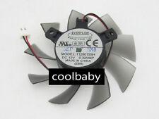 T1280158SH Graphics card cooling fan DC12V 0.32A 2Pin
