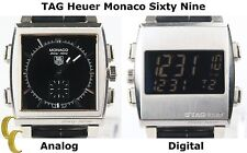 Tag Heuer Monaco Sixty Nine Automatic Reversible Watch Retail CW9110-0