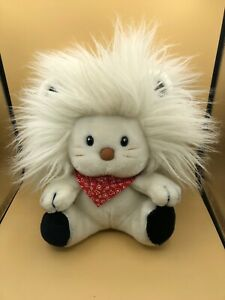 Vintage Official Bandy The White Lion Applause Plush Soft Stuffed Toy Doll 1983