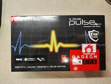 Sapphire RX 570 Pulse Graphics Card, 4GB GDDR5, DVI-D, HDMI, DisplayPort