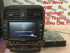ACURA TSX Navigation GPS Display Screen Radio 6 Disc Changer CD Player 7KR0 OEM