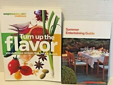 WeightWatchers 360 Turn up the Flavor Cookbook & Summer Entertaining Guide