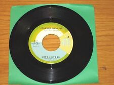 "60's ROCK 45 RPM - MITCH RYDER - NEW VOICE 824 - ""I'D RATHER GO TO JAIL"" + ""JOY"""