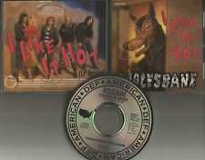 Blaze Bayley WOLFSBANE I Like it Hot PROMO DJ CD Single IRON MAIDEN 1989 USA