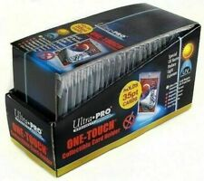 25 Ultra Pro 35pt One Touch Magnetic Card Holders Brand New Factory Sealed