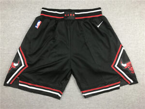 HOT Chicago Bulls Black City Edition Basketball Shorts Size: S-XXL