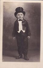 RP; GALESBURG, Illinois , 10-30s: Boy in a tux