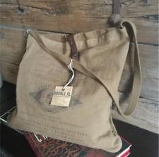 Genuine Ralph Lauren Double RL Heavy Canvas Unisex Zipped Postman Bag 3 Designs