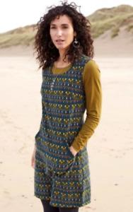 Nomads - Souk Cotton Cord Pinafore Dress (SU30)
