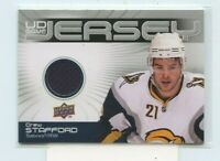 DREW STAFFORD 2010-11 Upper Deck Game Jerseys Buffalo Sabres GJ-ST