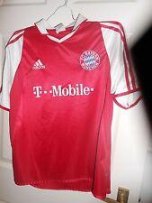 Adidas Bayern Munich chicos XL/13-14 años 2003-04 Hogar Camiseta de fútbol (en muy buena condición COND)
