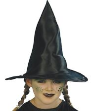 Childs Vestido Elegante Sombrero De Bruja Niños Sombrero Negro Nuevo por Smiffys