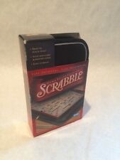 SCRABBLE Folio Crossword Game Travel Edition Hasbro