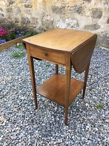 Edwardian Side Table  /  Lamp Table