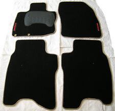 Alfombrillas Honda Civic 5p de  2006 a 2009 a medida con fijaciones borde beige