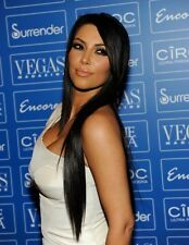 """#1 Jet Black, 18"""", CLIP in HAIR Extensions CLIPIN Kardashian Clip-in Extentions"""